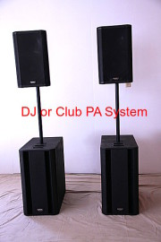 Amazing DJ or Club PA System